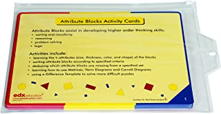 Attribute Blocks Activity Cards, Grade: Kindergarten to .75