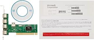 Microsoft WindowsPro7SP1 x64bit 日本語 DSP版  DVD LCP (紙パッケージ版)+USB増設PCIカードUSB2.0