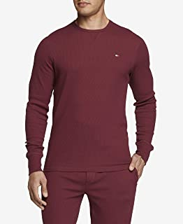 Men's Thermal Long Sleeve Crew Neck Shirt
