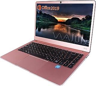 wajun ノートPC Pro-8未使用品/MS Office 2019/win 10/Webカメラ/MicroHDMI/Bluetooth/WIFI/Celeron N3450/8GB/256GB SSD (整備済み品)