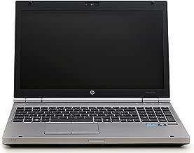 HP 8560P 15.6-Inch Laptop Intel Core i5-2520M 2.5GHz,4GB Ram,500GB HDD, Windows 10 Pro (Renewed)