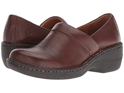 Born Toby Duo (Chocolate Full Grain Leather) Women