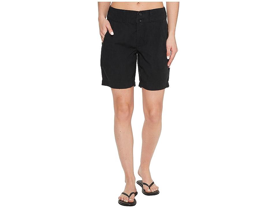 NAU Flaxible Long Shorts (Caviar) Women