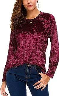 Best women's velour shirts Reviews