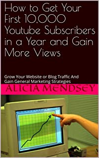 How to Get Your First 10,000 Youtube Subscribers in a Year and Gain More Views, as well as do well on the GRE: Grow Your Website or Blog Traffic And Gain General Marketing Strategies