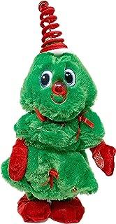 Winter Wonder Lane Animated Plush Toys, Christmas Holiday Decorations Plush Animal Toys, Gift Ideas (Dancing Tree Dan Dee)
