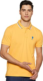 US Polo Association Men's Solid Slim fit T-Shirt