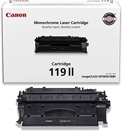 Canon Original 119 II High Capacity Toner Cartridge - Black