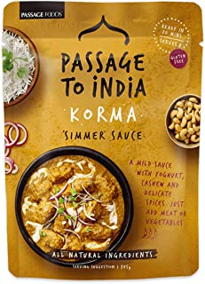 Passage Foods Passage to India - Korma Curry Simmer Sauce, 375 g