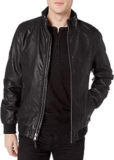 Best calvin klein leather bomber jacket mens Reviews