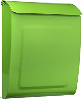 dark green mailbox