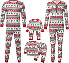 Mikilon Matching Family Pajamas Christmas Kids and Toddler Baby Clothes Mum and Me Pjs Women Men