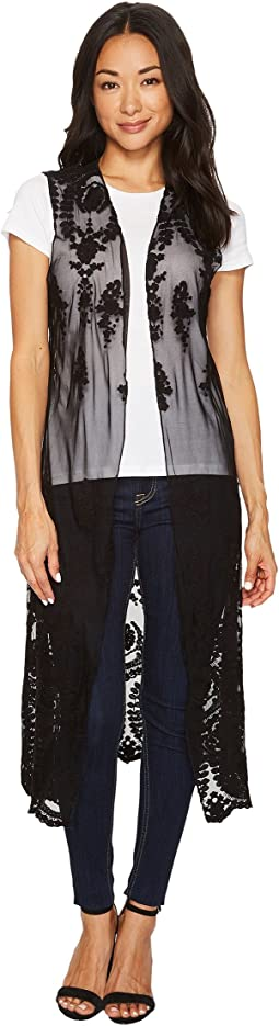 Scully - Stevie Lace Duster Vest