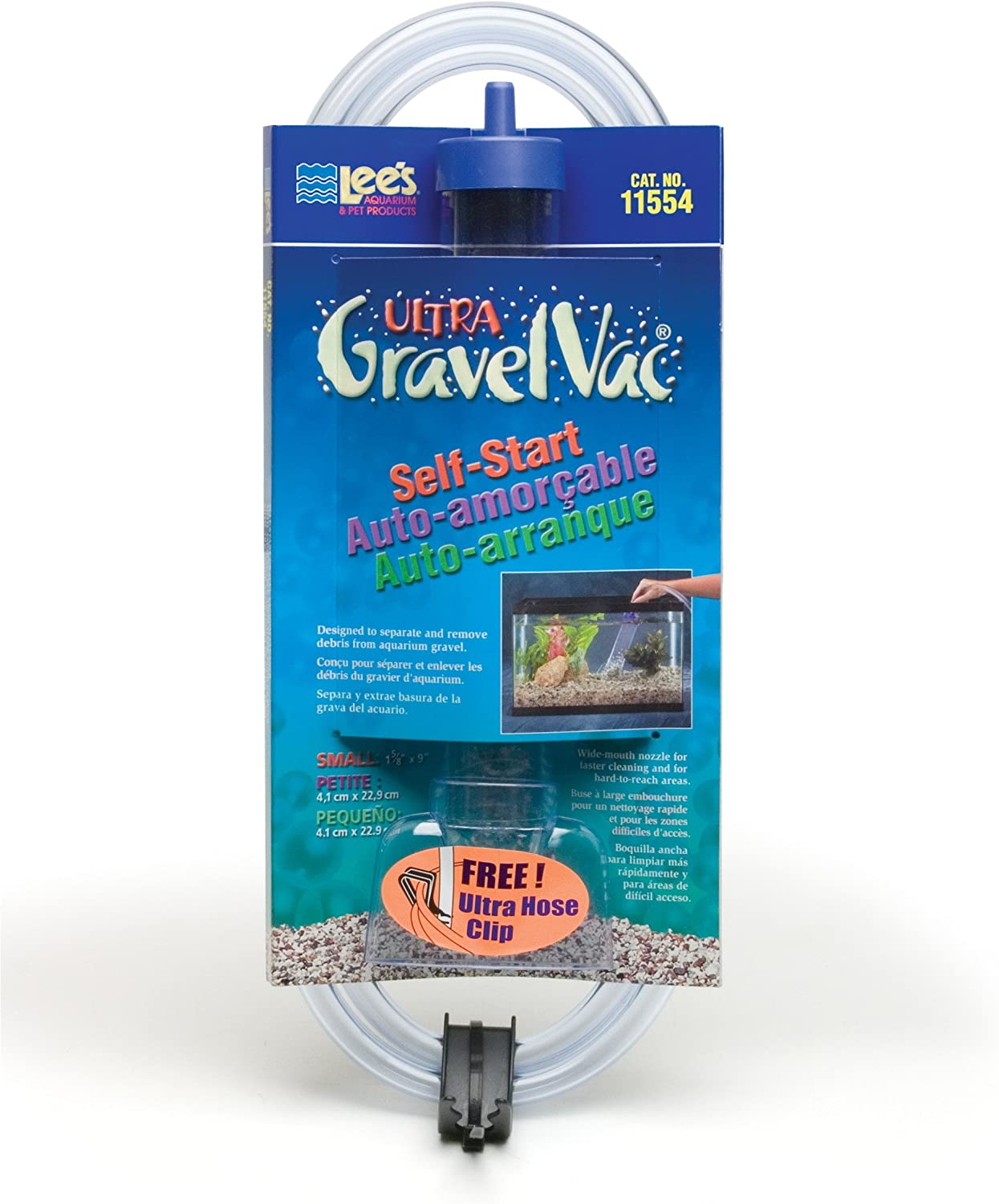 Lee's Ultra GravelVac Self-Start with Nozzle 9