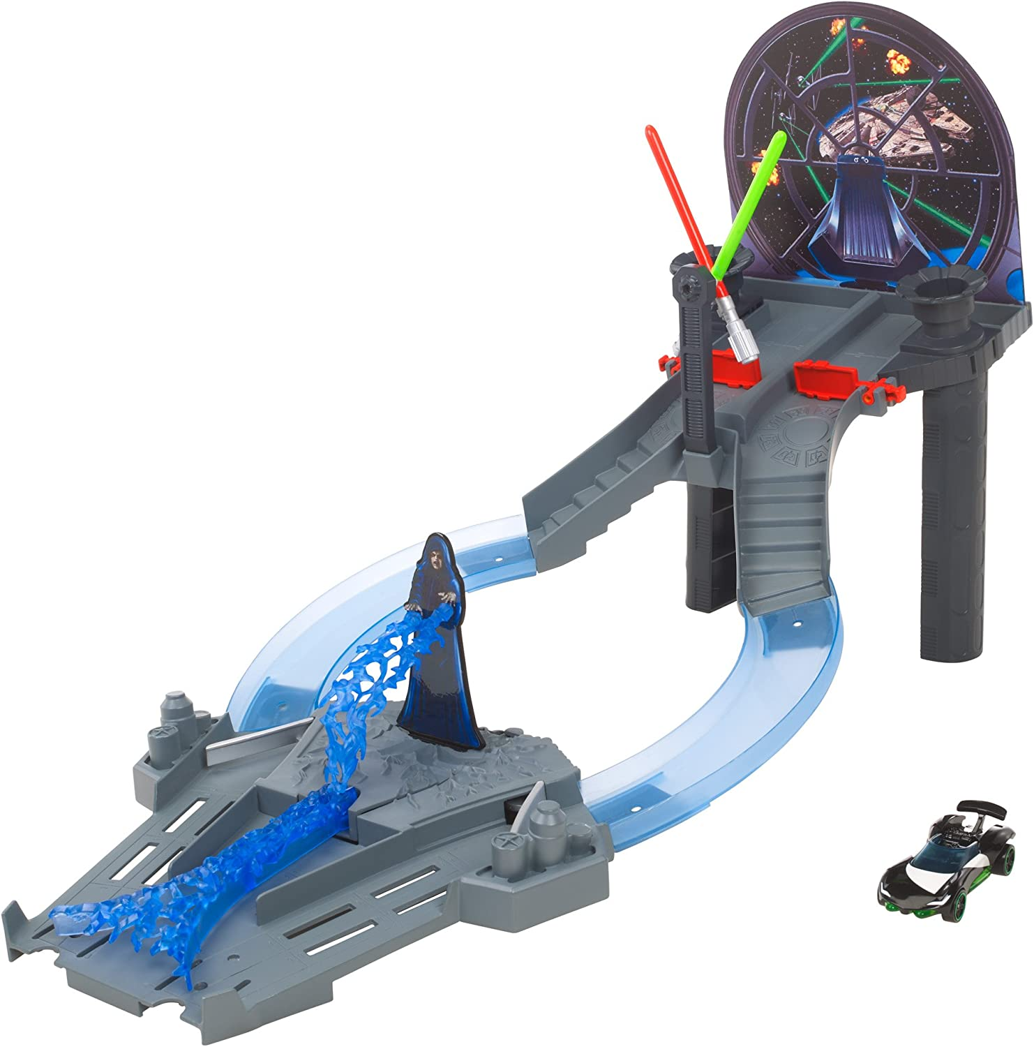 Hot Wheels Star Wars Throne Room Raceway Trackset