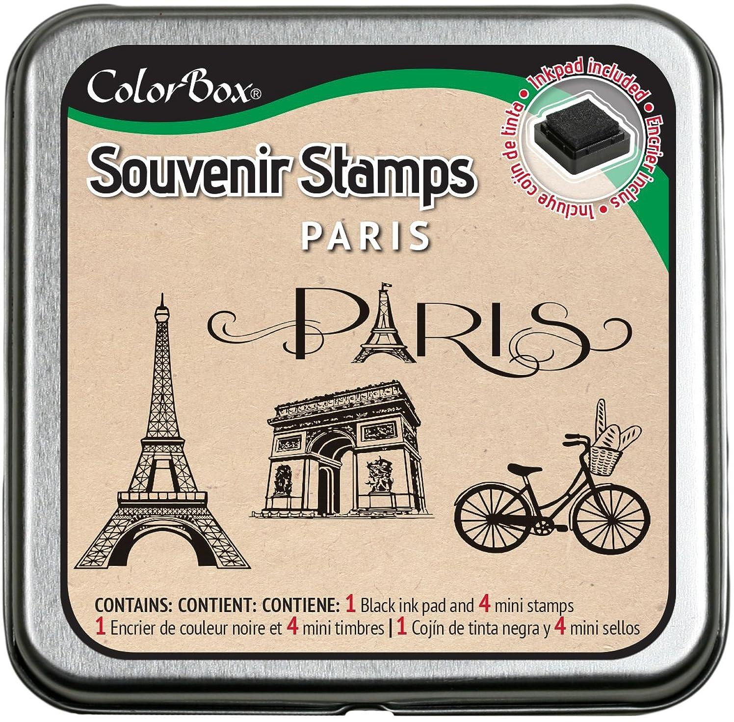 CLEARSNAP ColorBox Souvenir Stamps, Paris