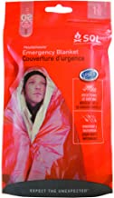 S.O.L. Survive Outdoors Longer 90% Reflective Emergency Blanket (Pack of 4)