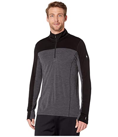 Smartwool Merino Sport 250 Long Sleeve 1/4 Zip (Black) Men