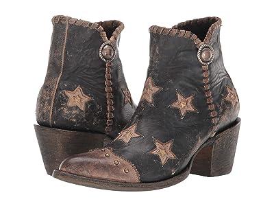 Old Gringo Glamis (Black/Beige) Cowboy Boots