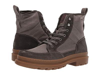 Frye Scout Boot (Slate Multi Suede/Waxy Canvas) Men