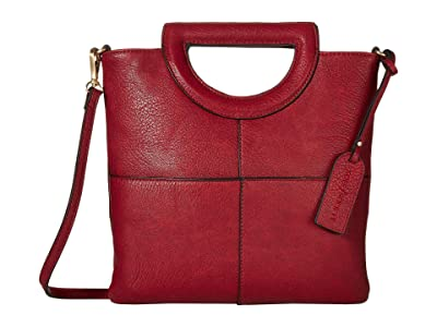 SOLE / SOCIETY Duff Clutch (Garnet) Handbags
