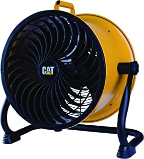 "Caterpillar High Velocity Drum Air Circulation Fan, Black, 14"", HVD-14AV"