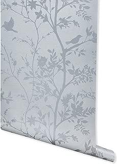Innocence, Dusty Gray Wallpaper for Walls - Double Roll - by Romosa Wallcoverings BB7350