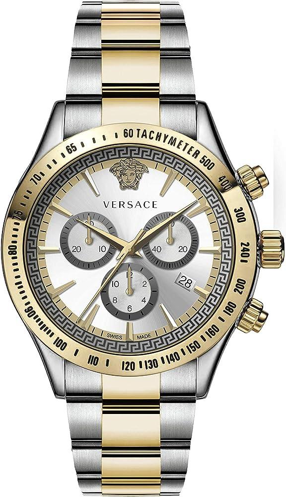 Versace chrono classic heren horloge chronograaf VEV7005 19