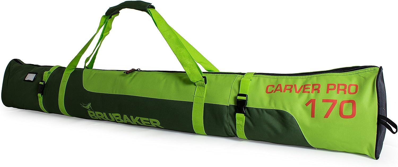 BRUBAKER Padded Ski Raleigh Mall Bag Manufacturer OFFicial shop Skibag Carver Limited Pro Edition wi -
