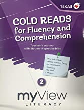 myView Literacy, Cold Reads for Fluency and Comprehension - Texas Edition