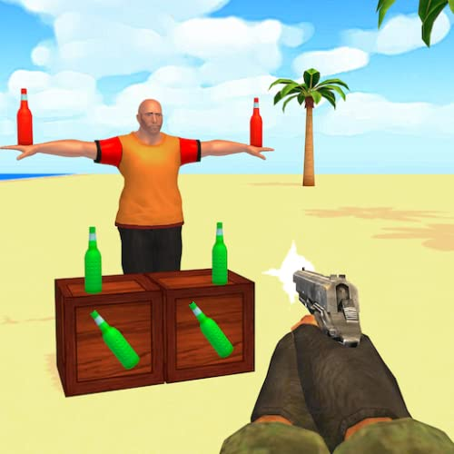 Bottle Shooter 3D Best Gun Shooting Game