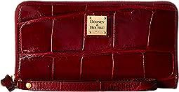 Dooney & Bourke - Pembrook Large Zip Around Wristlet