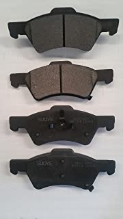 Stirling Note: Exc 7,700lb GVW 2001 For Ford F-150 Front Set Semi Metallic Brake Pads Both Left and Right with 2 Years Manufacturer Warranty