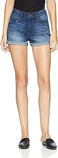Madison Denim Women's Morgan High Rise Short with 1 inch Single Cuff