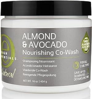 Design Essentials Natural Almond & Avocado Nourishing Co-wash - 16 Oz