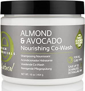 Design Essentials Natural Almond & Avocado Nourishing Co-Wash Shampooing Nourishment For All Curl Types - 16 Oz