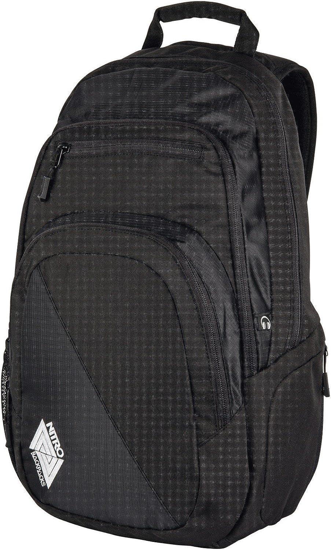 Nitro Rucksack Rucksack Rucksack Backpack Stash - schwarz B00LGDKYGU  Optimaler Preis 742cee