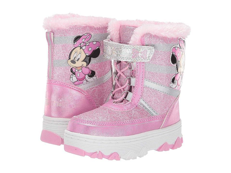 Josmo Kids Minnie Snow Boot (Toddler/Little Kid) (Pink 1) Girls Shoes