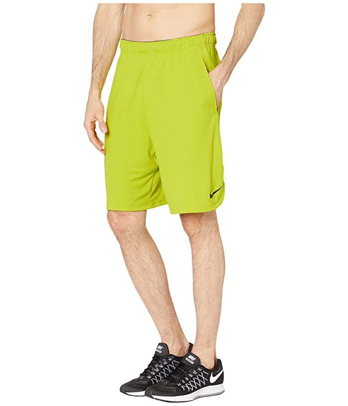 Nike Dri-FIT 9 Training Short (Bright Cactus/Black) Men