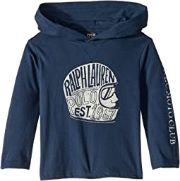 Cotton Hooded Graphic T-Shirt (Toddler)
