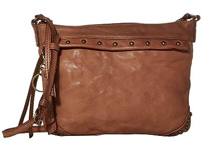 FRYE AND CO. Odessa Crossbody (Cognac) Cross Body Handbags