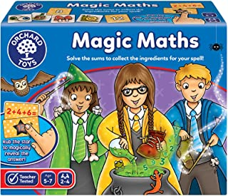 Orchard Toys Magic Maths Game, multi-colour, Board Game, 103505