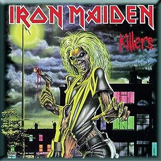 Iron Maiden Killers new Official 76mm x 76mm Fridge Magnet