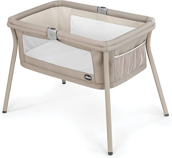 Chicco LullaGo Portable Bassinet Sand