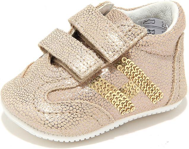 Hogan 8471M Junior Scarpe neonata Bimba Sneaker Shoes Kids Oro [16 ...