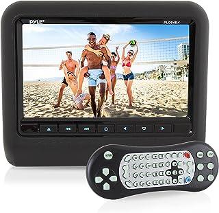 Universal Car Headrest Mount Monitor - 9 Inch Vehicle Multimedia DVD Player - Audio Video Entertainment System w/HDMI Inpu...