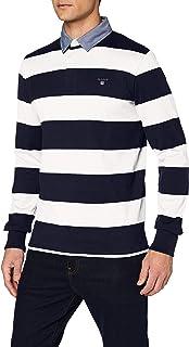 GANT Heren Originele Barstripe Heavy Rugger Polo Shirt