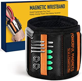Magnetic Wristband Best DIY Dad Gifts- Gifts Tool for Men...