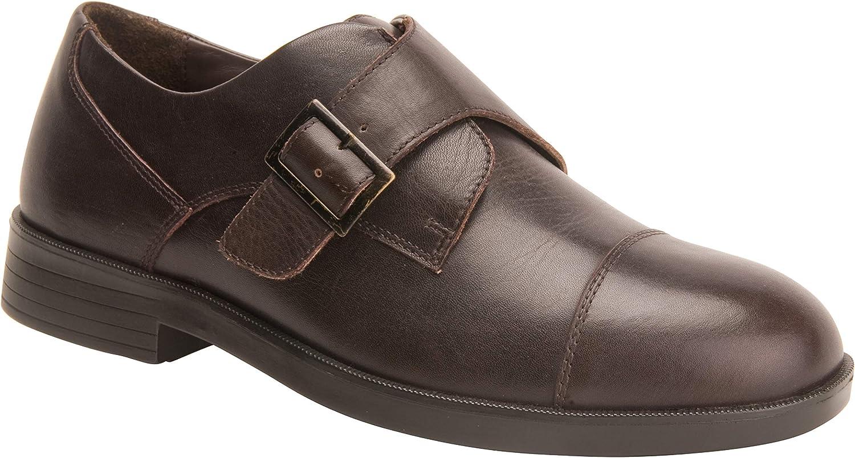 Drew Shoe Men's Canton Brown Fashion Oxfords 9 4W