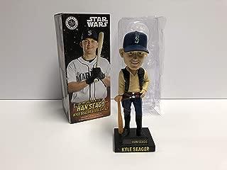 Kyle Seager Star Wars Night Han Seago Seattle Mariners 2018 Baseball Bobblehead Bobble SGA